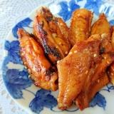 鶏手羽中のピリ辛コチジャン焼き