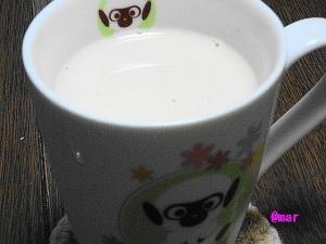 きなこハチミツ牛乳♪