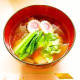 ☺簡単!我が家の野菜たっぷり関東(東京)風お雑煮☺