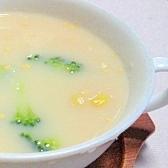 クリームコーンとブロッコリーのスープ