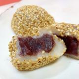 子供が喜ぶ(^^)切り餅で作る焼きゴマ団子♪