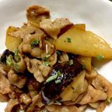 豚バラ肉と大根のさっと煮