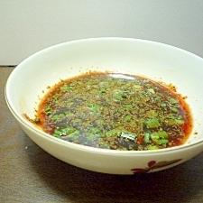 ねぎごまでテキトーなチヂミのタレ