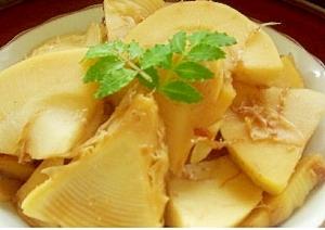 筍の下処理と土佐煮