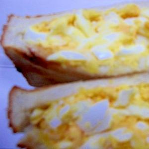 ホット玉子サンド
