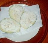 水茄子のクリームチーズカナッペ