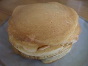 メレンゲで!ふわふわパンケーキ