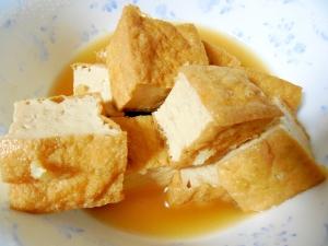 厚揚げの生姜風味煮