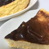 とろける食感!バスク風チーズケーキ