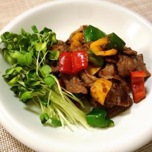 牛肉の醤油麹炒め