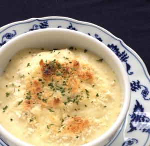 簡単、ヘルシー*豆腐のホワイトソースグラタン