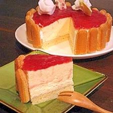 バレンタインにも♪ホットケーキミックスでレアチーズ