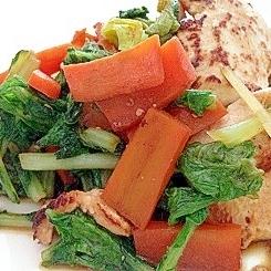 ☆冬野菜の野菜炒め