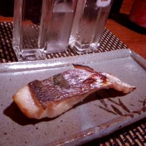 おうち居酒屋、鯛の蕗の葉巻き