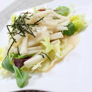 理研うま塩ドレ&ヨーグルトのシャキシャキ大根サラダ