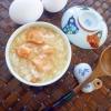 炊飯器で簡単!だけど本格!鮭と卵のお粥