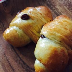 もちふわっ手作りレーズンロールパン