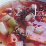 食べ応えばっちり白いんげん豆のカスレ風スープ