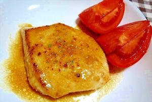 カジキマグロのソテー☆バター醤油ソース