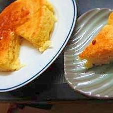 スライスチーズでチーズ風味ケーキ