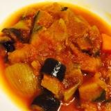 圧力鍋で簡単‼︎野菜トマトカレースープ