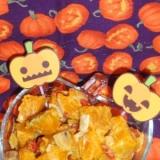 ハロウィーンの栗かぼスウィートサラダ