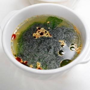 シンプルだから美味しい!ワカメの中華スープ