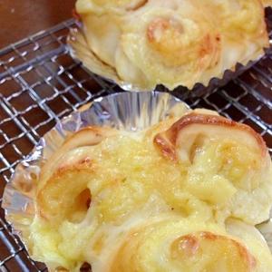 ハムとスライスチーズのパン