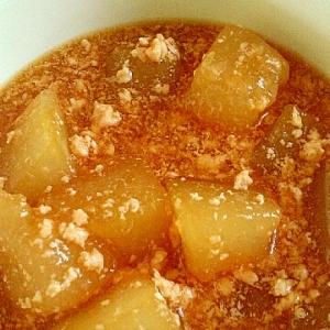 めんつゆで簡単に。冬瓜の煮物