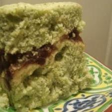 緑茶蒸しパンあんこ入り ルクエ使用
