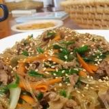 ★子供大好きレシピ★焼肉のタレ利用/簡単チャプチェ