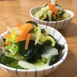 メチャうま簡単♡白菜とわかめの和え物