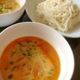 いなばのツナとタイカレーで簡単うどんつけ麺