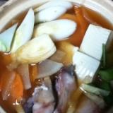 タラのチゲ風味噌鍋