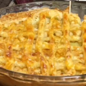 冷凍パイシートで簡単‼︎子供と手作りアップルパイ♡