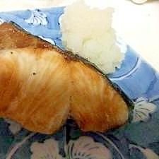 ブリの 塩焼き