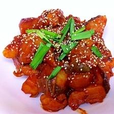 簡単にできる韓国家庭料理~タクトリタン♪