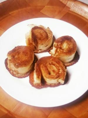 簡単食パンおやつ!ミニオレザン☆シナモンロール
