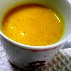 豆乳で絶品簡単カボチャスープ