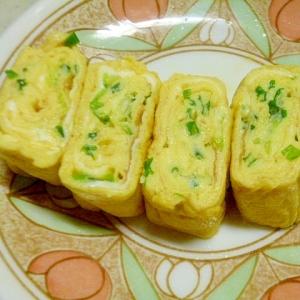簡単♪お弁当やおつまみに♪ネギたっぷり♪だし巻き卵