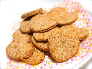 身体に良すぎるっ♫ココナッツオイルの全粒粉クッキー