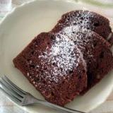 ホットケーキミックスで・・簡単チョコケーキ