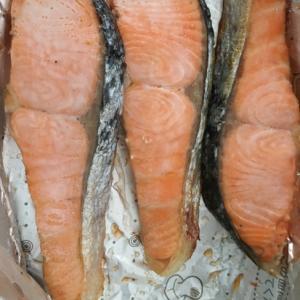 鮭のホイル焼き!簡単、時短