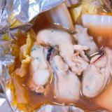 牡蠣のホイル焼き(バターポン酢)