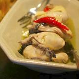 牡蠣のオイル漬け*オードブル