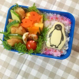 簡単海苔アート キャラ弁☆suicaのペンギン弁当