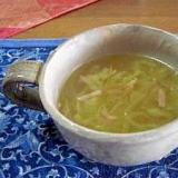 春きゃべつスープ