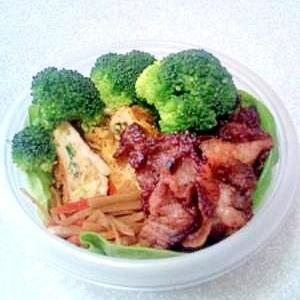 豚肉から揚げのお弁当。