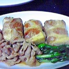 ジューシー美味しい☆巻き巻き肉豆腐♪