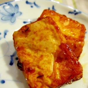 豆腐のステーキ (中華風)